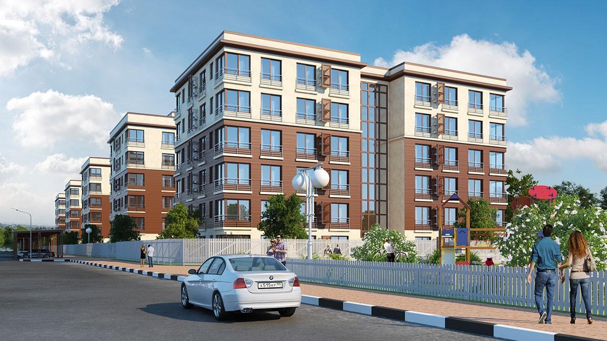 Проект комплекса жилой застройки