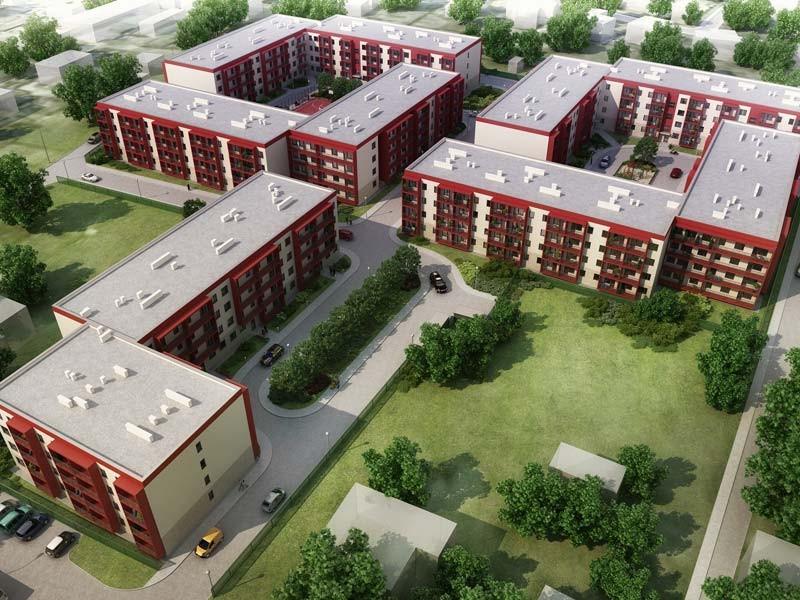 Проект строительства комплекса жилой застройки